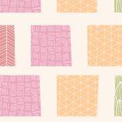 Ornamental square pattern