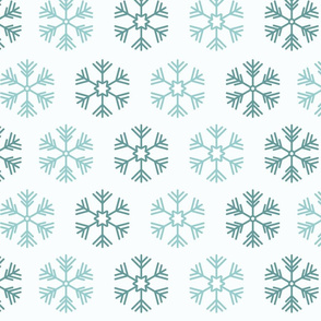 Snowflake pattern 01