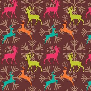 Christmas Reindeer Pattern 02