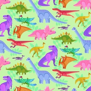 Colorful Dinos!