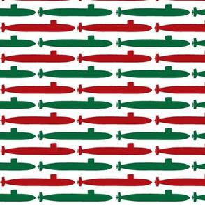 Submarine Squadron - Christmas Small Print