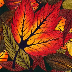 Drawing_-_Fall_Leaves_2014_Cropped
