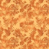 Copper Ganja Leaves