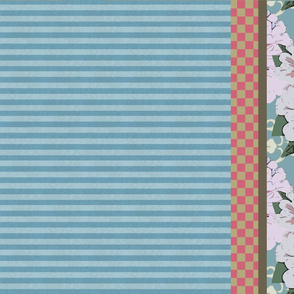 Pink_Zinnia_set_of_4_Tea_Towels