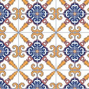 Mustache Tiles