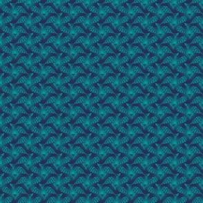 Many Minnows Blue