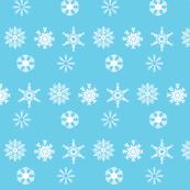 Blue-Snowflakes