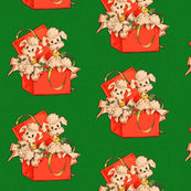 Christmas Present Poodles