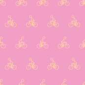 Cyclist in pink