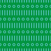 Sticks n Spots on Green