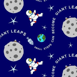 Small Steps and Giant Leaps - The Moon