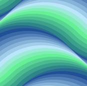 billowing summer waves