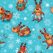 Christmas deers