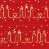 Three candles and a heart_red