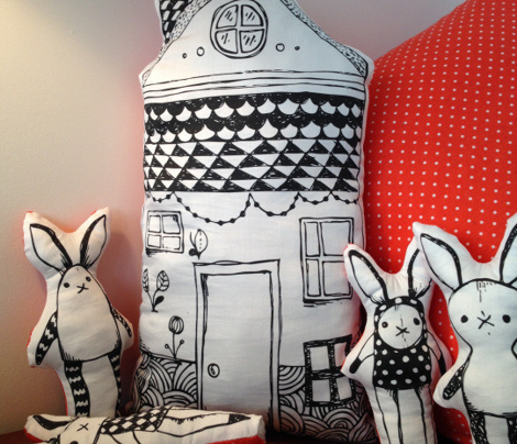Oscar rabbit house