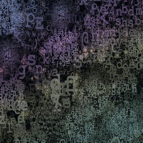 AlphaDreams: Sage, violet, slate blue