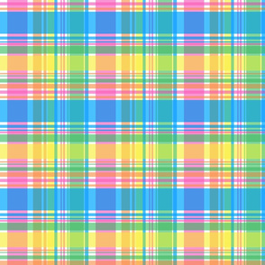 Spring Pastels Colorway - Plaid #2