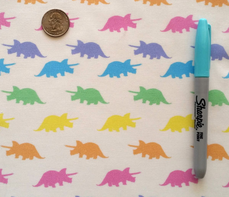 Spring Pastels Colorway - Triceratops