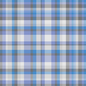 Bold Blue Plaid