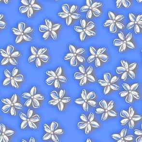 Periwinkle floral