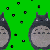 Inspired by Totoro and Sprites