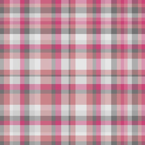 Rosey Gray Plaid