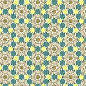 Green and Yellow Geometric