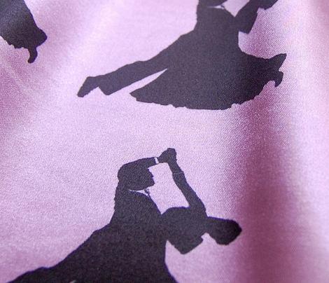 Ballroom Dancers - Pink