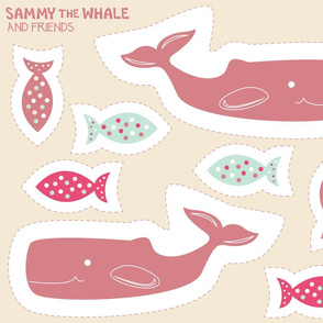 Cut and Sew: Sammy the Whale Pinky