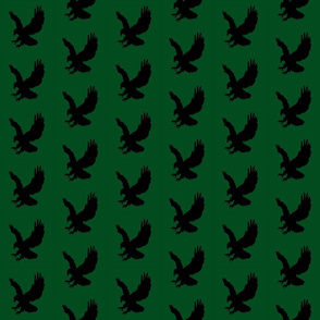 Eagle Flock on Green