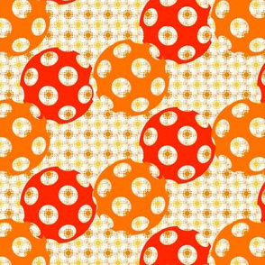 Autumn Polka Polka Dots