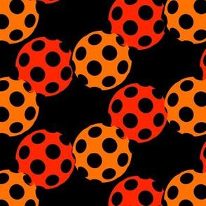 Halloween Polka Polka Dots