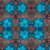 Brown and Blue Kaleidoscope