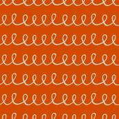 orange squiggle
