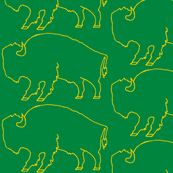 Bison_Green_ and_Gold Inverted