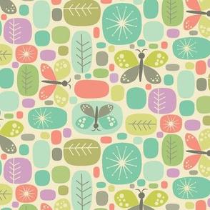 butterfly block-aqua