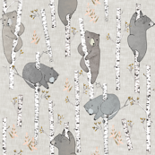Birch Bears (latte)
