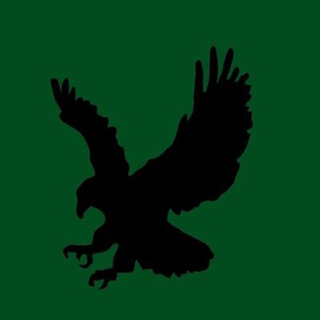 Eagle on Green Swatch