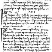 Old English (Bald's Leechbook)