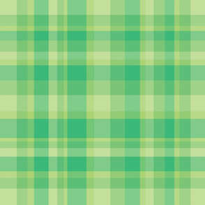 Retro Green Plaid