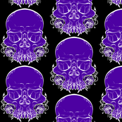 Vampire Skull Circle Skirt Coordinate