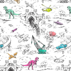 Adventure Toile Pop
