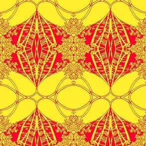 Cadmium Ornaments with golden
