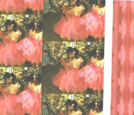 Degas Pink Ballerinas