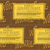 Dean's Golden Tickets and Wonka Bars