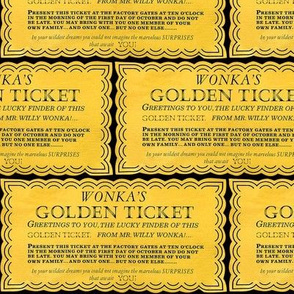 Dean's Golden Tickets on Black