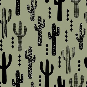 cactus dark green nursery baby boy kids outdoors southwest