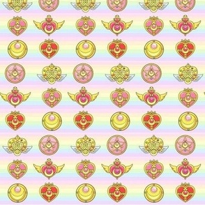 Sailor Moon Badges (Small)