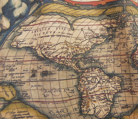 1564 World Map
