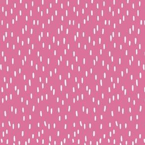 Wibbly Wobbly bits dark pink